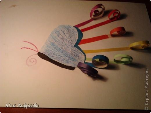 Радужная бабочка фото 2