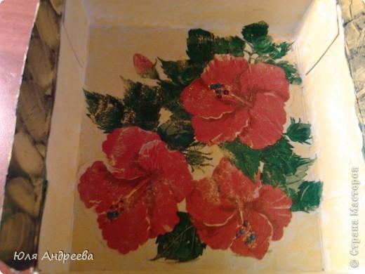 Вот такую красоту  сделала из коробки для чайных пакетиков фото 2