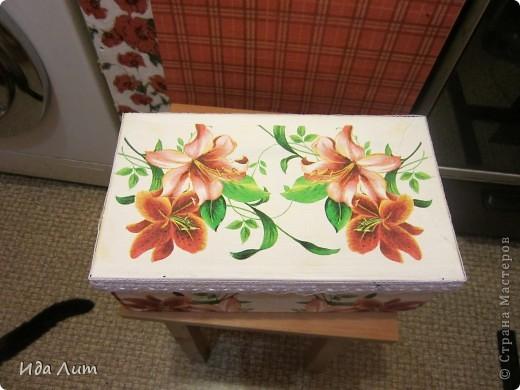 Маленький презент для бабушки - коробка для хранения лекарств. фото 2
