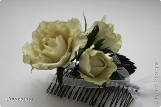 Роза на гребне в подарок фото 2