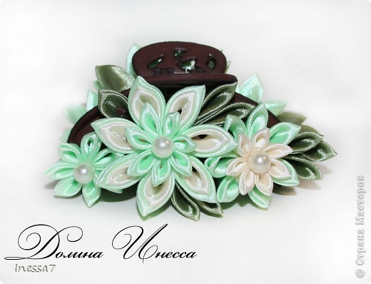 заказали мои очаровательные клиентки крабики с цветами....вот что вышло))))) фото 5