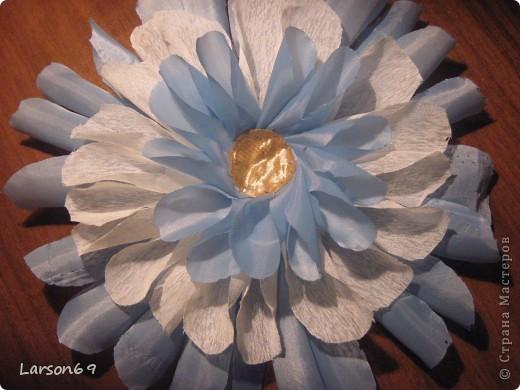 Цветок для декорирования занавески фото 2