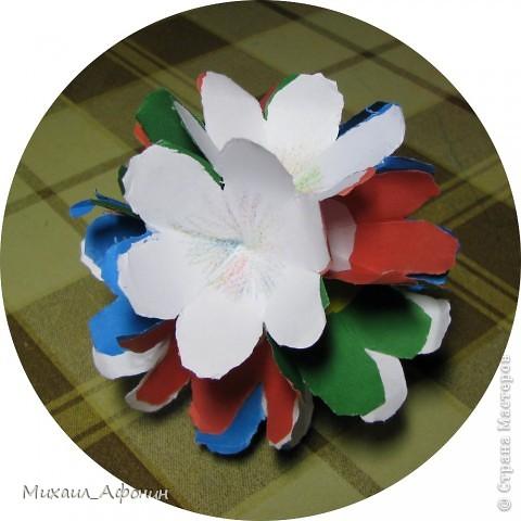 Шарик из цветов фото 1