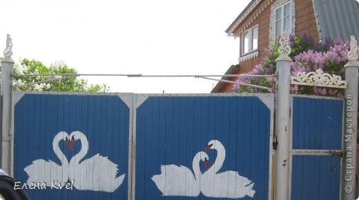 Начнём с ворот))) Творчество моего мужа... фото 1