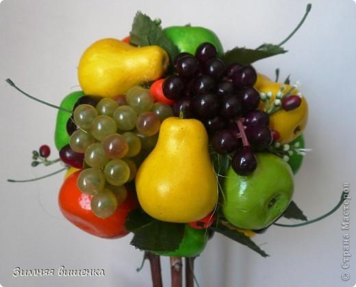 Всем привет!!!!! Хочу показать вам очередное фруктовое деревце (сделано на заказ) и солнечный велосипедик! фото 3