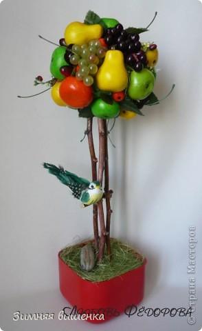 Всем привет!!!!! Хочу показать вам очередное фруктовое деревце (сделано на заказ) и солнечный велосипедик! фото 2