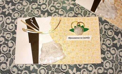 Цветовое решение свадьбы бело-золотое. Всё сделано моими руками. фото 4