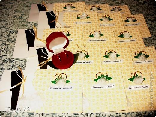 Цветовое решение свадьбы бело-золотое. Всё сделано моими руками. фото 5