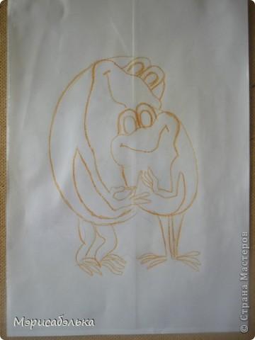 Увидела я как-то в интернете картинку с симпатишными лягушками и решила сделать их из теста в подарок одной из мастериц СМ.Теперь эти красотули уже живут в Москве. Самой лягушки очень понравились и сделала я  себе таких же ,и вам покажу как творила,может пригодится кому. фото 2
