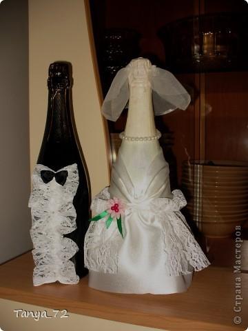Цветовое решение свадьбы бело-золотое. Всё сделано моими руками. фото 6