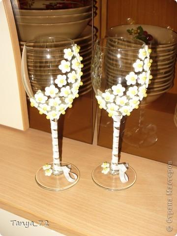 Цветовое решение свадьбы бело-золотое. Всё сделано моими руками. фото 8