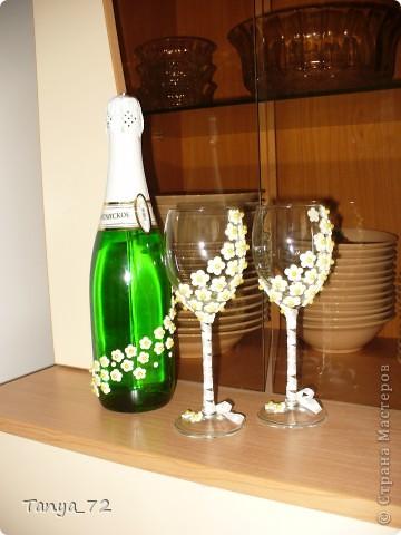 Цветовое решение свадьбы бело-золотое. Всё сделано моими руками. фото 7