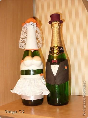 Цветовое решение свадьбы бело-золотое. Всё сделано моими руками. фото 12