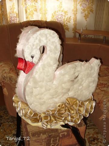 Цветовое решение свадьбы бело-золотое. Всё сделано моими руками. фото 11