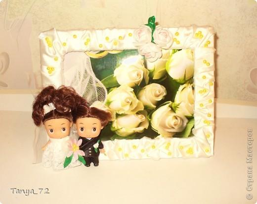 Цветовое решение свадьбы бело-золотое. Всё сделано моими руками. фото 10