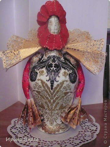 Королева карнавала. Вид спереди.  фото 1