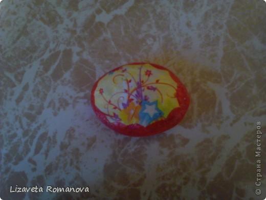 Первый опыт росписи камней фото 6