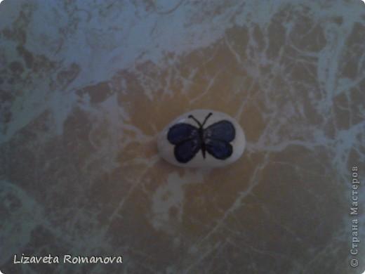 Первый опыт росписи камней фото 7