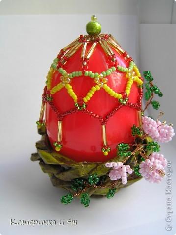 Пасхальное яйцо в гнездышке