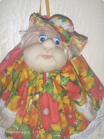 Моя первая кукла. Не судите строго, только учусь...  фото 2