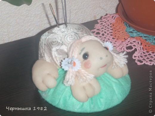 Моя первая кукла. Не судите строго, только учусь...  фото 4