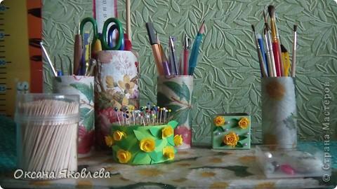 """Как то раз """"гуляя"""" по СМ я н увидела карандашницу, мне очень понравилось вот и решила сделать для своих инструментов))) фото 6"""