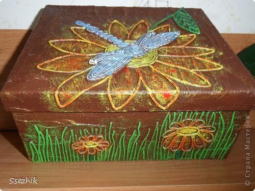 Была коробочка простая, а стала.... Очередное Спасибо Татьяне Сорокиной http://stranamasterov.ru/user/151613 . Ну и фотографии.. фото 8