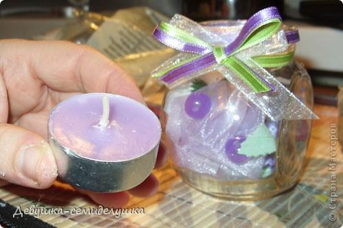 На свадьбе дочери планируем зажечь лавандовые свечи во время снятия фаты. До этого момента эти свечи будут выполнять роль декора зала. фото 21