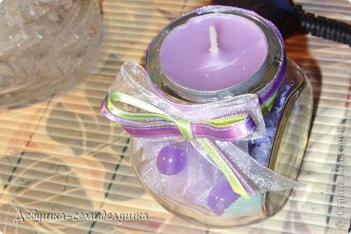 На свадьбе дочери планируем зажечь лавандовые свечи во время снятия фаты. До этого момента эти свечи будут выполнять роль декора зала. фото 24