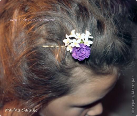 Засмотревшись на  работу Екатерины Звержанской, я и себе попробовала сделать мини тюльпаны на кольцах. вам судить как вышло) фото 7