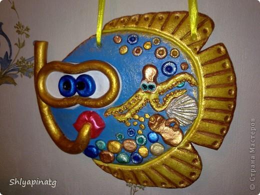 Рыба-дайвер (повторюшка)