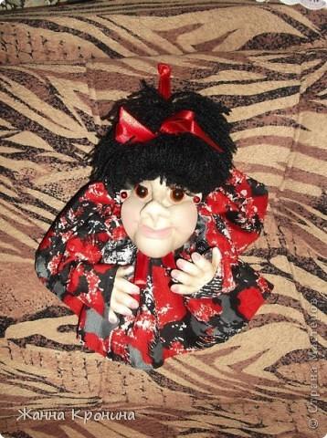 Вот такая девчушка у меня родилась ещё... зовут её Наташка. фото 1