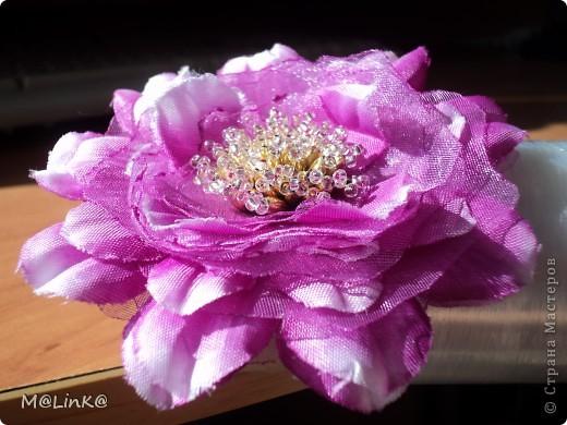 """Заколка """"Цветок"""" фото 1"""
