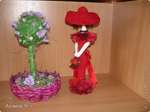 Красная Шляпочка с корзинкой хлебобулочных изделий :-) фото 2