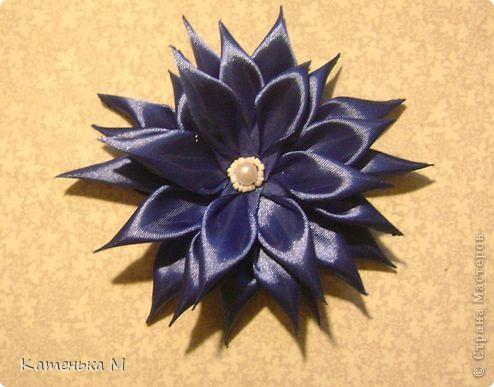 Цветочки из ткани фото 2
