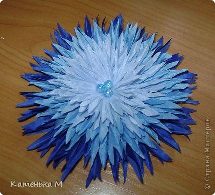 Цветочки из ткани фото 7