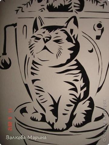 Давно хотела повторить работу o-olnika. Так мне понравился её котик! Такой забавный! И вот он перед Вами! фото 2