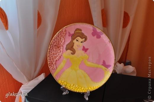 панно Красавица(салфетка,яичная скорлупа,подрисовка) фото 1