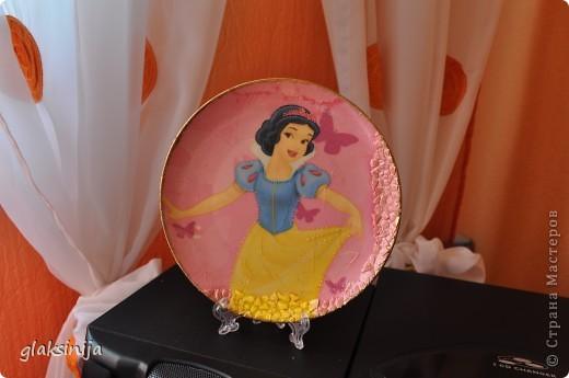 панно Красавица(салфетка,яичная скорлупа,подрисовка) фото 3