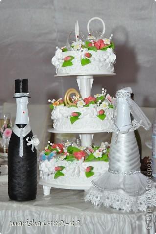 Доброе время суток всем Мастерицам! Это мой фото отчет о проделанной работе на свадьбу братишки! фото 3