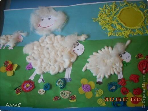 Лето,солнышко, овечки...