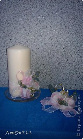 Свадебный набор. Ниже покажу поближе отдельные предметы. фото 4