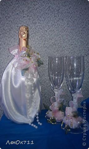 Свадебный набор. Ниже покажу поближе отдельные предметы. фото 3