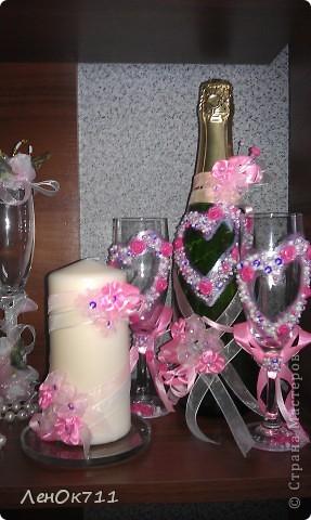 Свадебный набор. Ниже покажу поближе отдельные предметы. фото 7