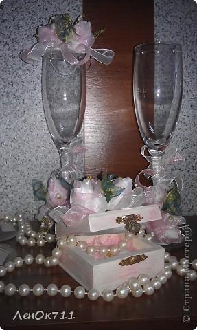 Свадебный набор. Ниже покажу поближе отдельные предметы. фото 6