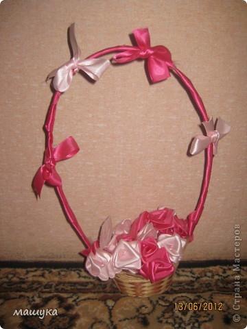 вот и моя корзинка с розами!!!!! фото 1