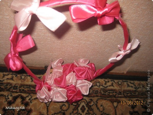 вот и моя корзинка с розами!!!!! фото 2