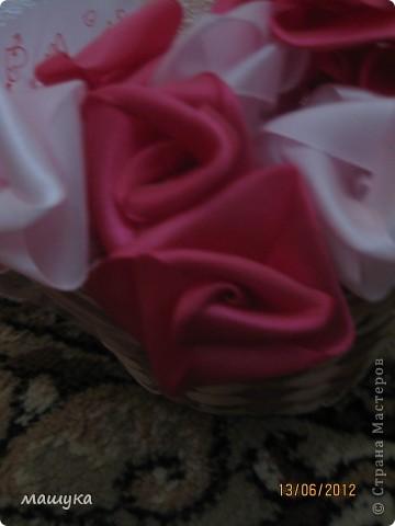 вот и моя корзинка с розами!!!!! фото 3