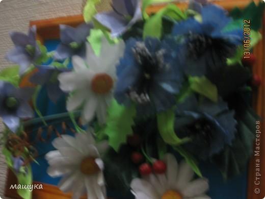 Композиция полевых цветов фото 3
