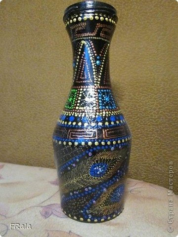 point-to-point,ваза из бутылки фото 2
